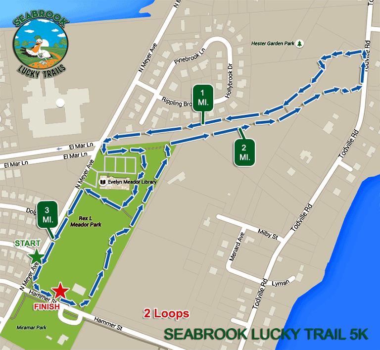 Course Maps – Seabrook Lucky Trail